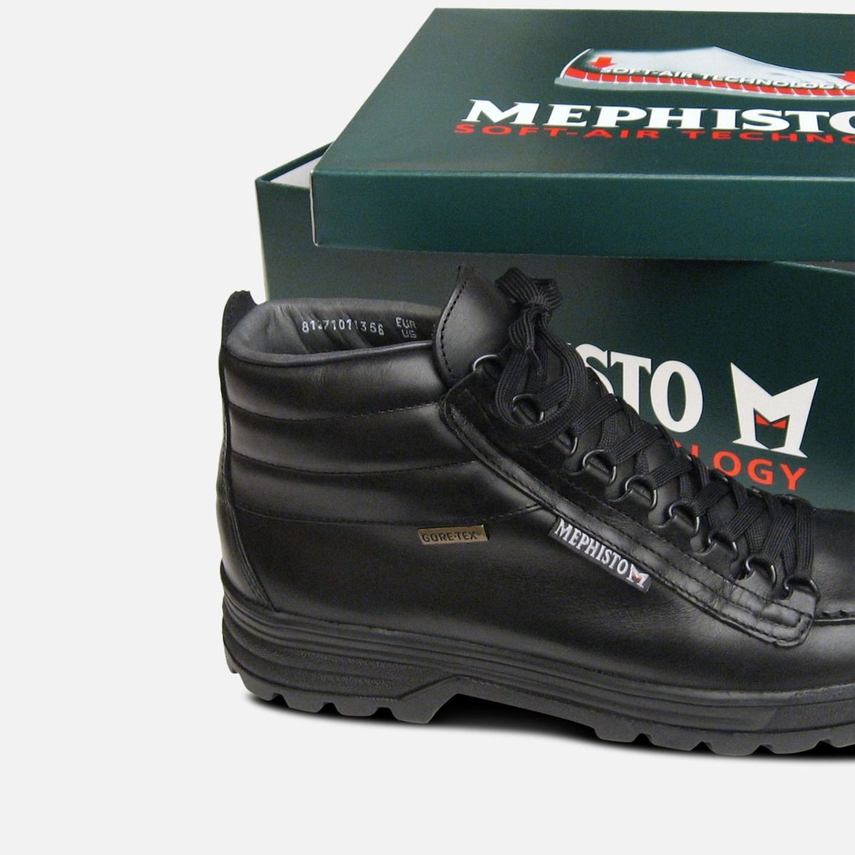 Mephisto Mens Gore Tex Sierra in Black