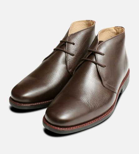 Londrina Brown Chukka Boots Anatomic Shoes