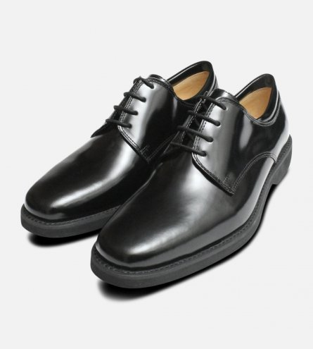 Anatomic & Co Black Polished Lace Up Shoes