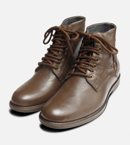 Waterproof Anatomic Boots in Dark Brown