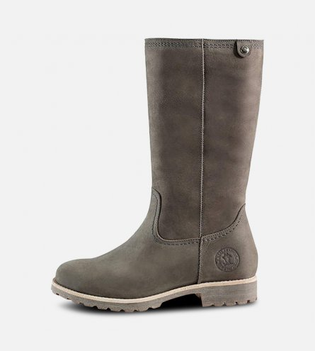 Panama Jack Igloo Ladies Bambina B6 Grey Boots