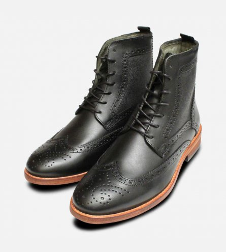 Barbour Belford Country Brogues in Black