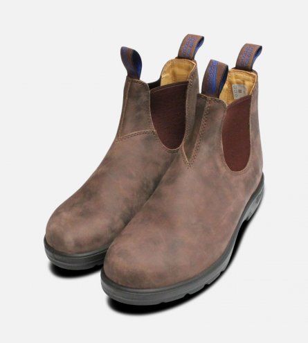 Insulated & Waterproof Rustic Brown Blundstone Boots