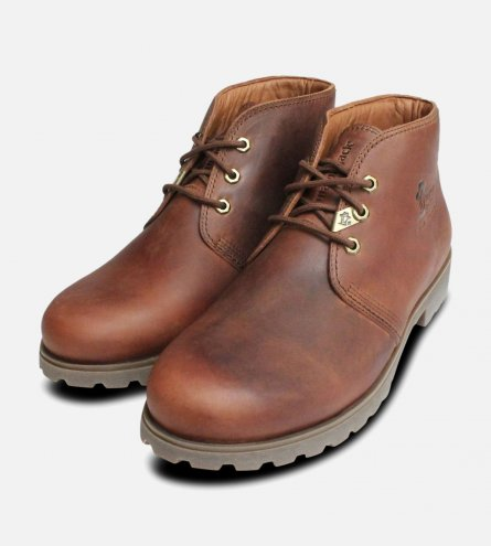 Mr Panama Jack Mid Brown Bark Havana Joe Boots