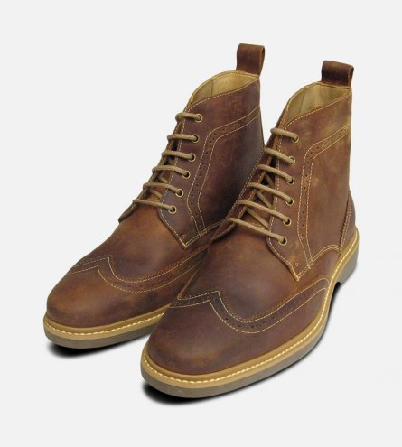 Waxy Brown Anatomic & Co Nova Boots