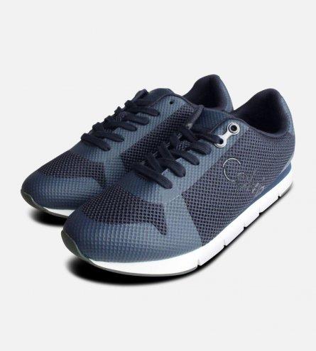 Navy Blue Calvin Klein Jacques Sneakers for Men