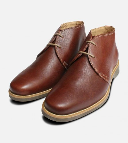 Chestnut Brown Anatomic & Co Chukka Boot