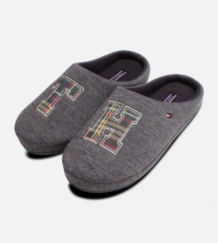 Tommy Hilfiger Cornwall Magnet Grey Luxury Slipper