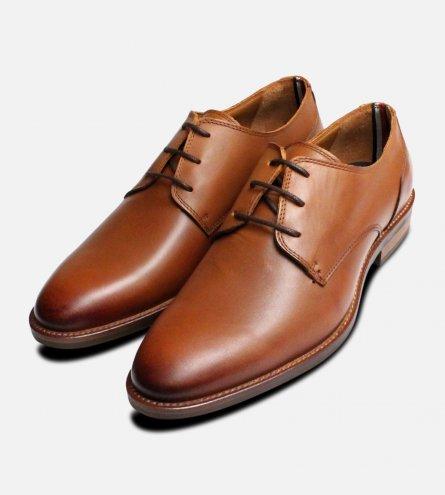 Cognac Brown Tommy Hilfiger Daytona Shoes