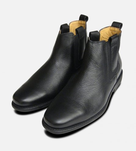 Formal Black Mens Chelsea Boots Anatomic & Co