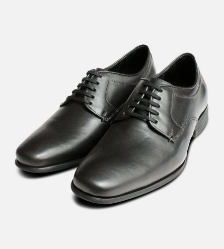 Formal Anatomic Lace Up Shoes in Black