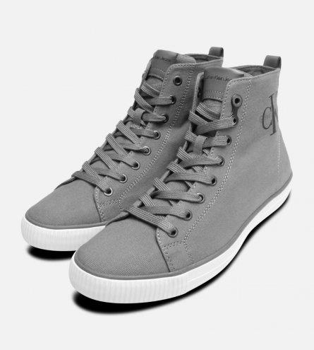 Grey Cupsole Arthur Hi Tops by Calvin Klein Shoes