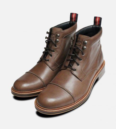Thomas Partridge Shoes Khaki Military Style Boot