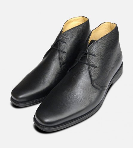 Londrina Black Chukka Boots by Anatomic Shoes