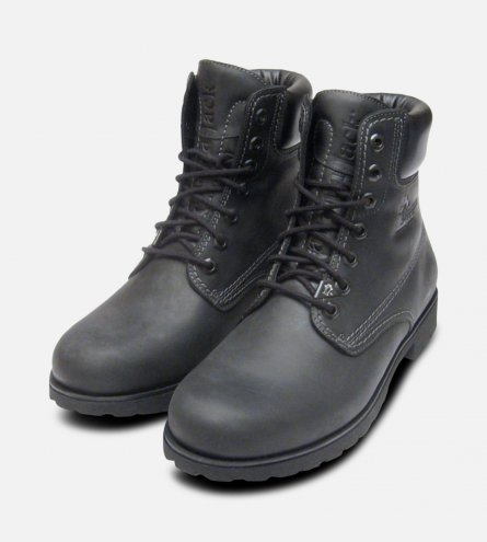 Panama Jack Original Mens Black Napa Boots