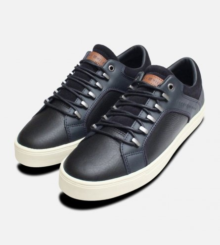 Tommy Hilfiger Navy Blue Designer Moon Trainers