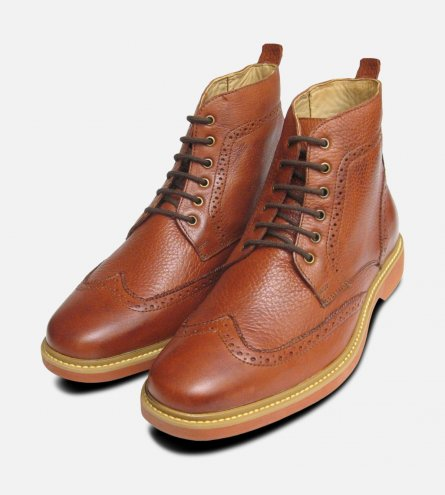 Chestnut Nova Boots by Anatomic Shoes