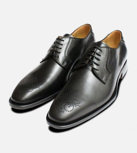 Oliver Sweeney Shoes Black Italian Cozzi Brogues