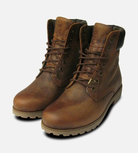 Panama Jack Original Mens Brown Bark Boots