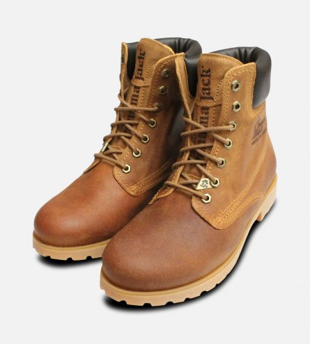Panama Jack 03 Original Mens Brown Honey Boots