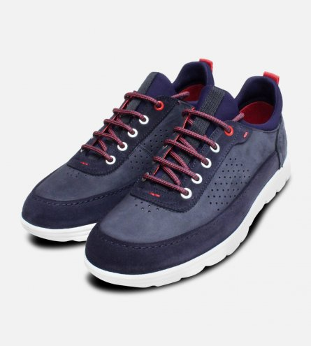 Panama Jack Trainers Davor Navy Blue Sneakers