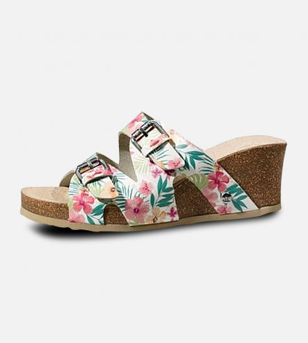 Ladies Panama Jack Vania Tropical Designer Sandals by Havana Joe