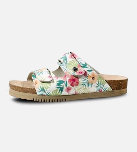 Panama Jack Bahamas B1 Ladies Tropical Designer Mules by Havana Joe