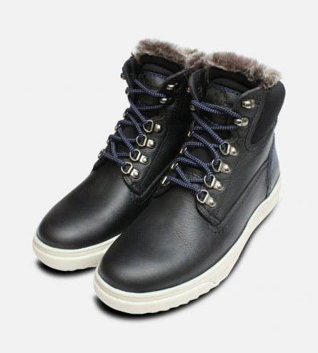 Fur Lined Black Urban Trekker by Panama Jack Shoes