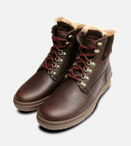 Fur Lined Brown Urban Trekker Panama Jack Boots