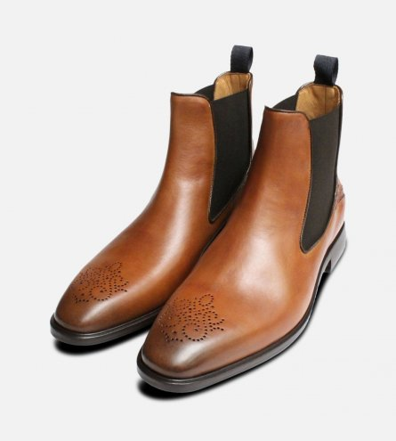 Oliver Sweeney Mens Rocca Chelsea Boot Brogues