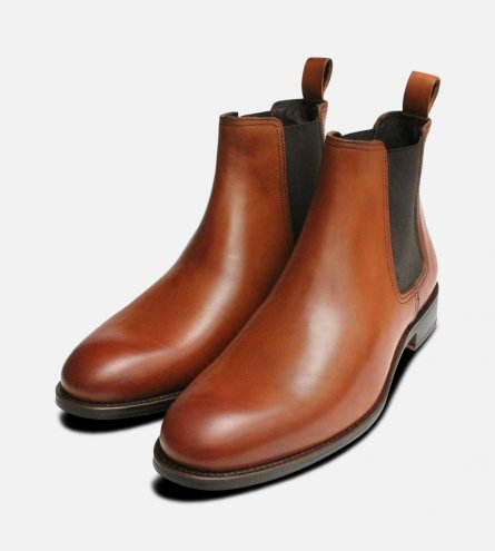 Light Brown John White Chelsea Boot Leather Sole