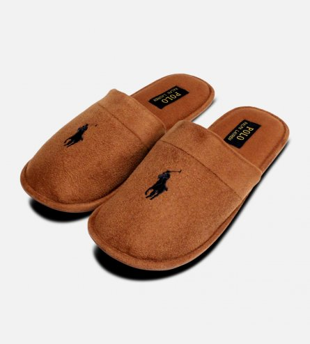 Snuff Brown Sunday Scuff 2 Ralph Lauren Slippers
