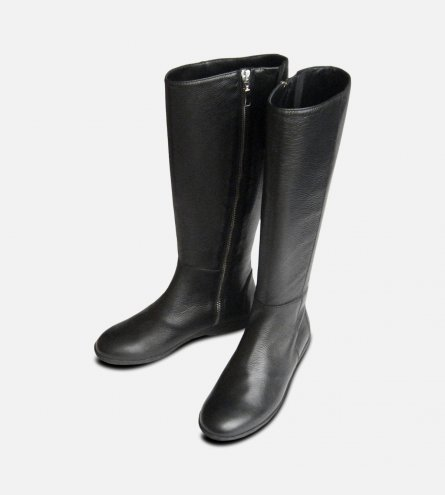 Luxury Italian Designer Ladies Black Riding Boots by Arthur Knight