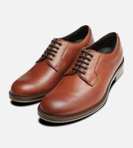 Chestnut Tan Thomas Partridge Lace Up Shoes
