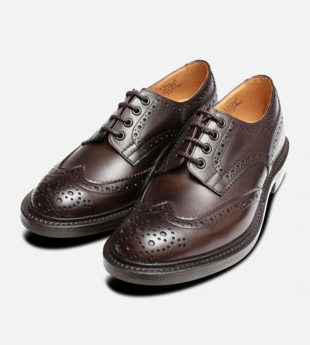 Trickers Bourton Espresso Dainite Shoes
