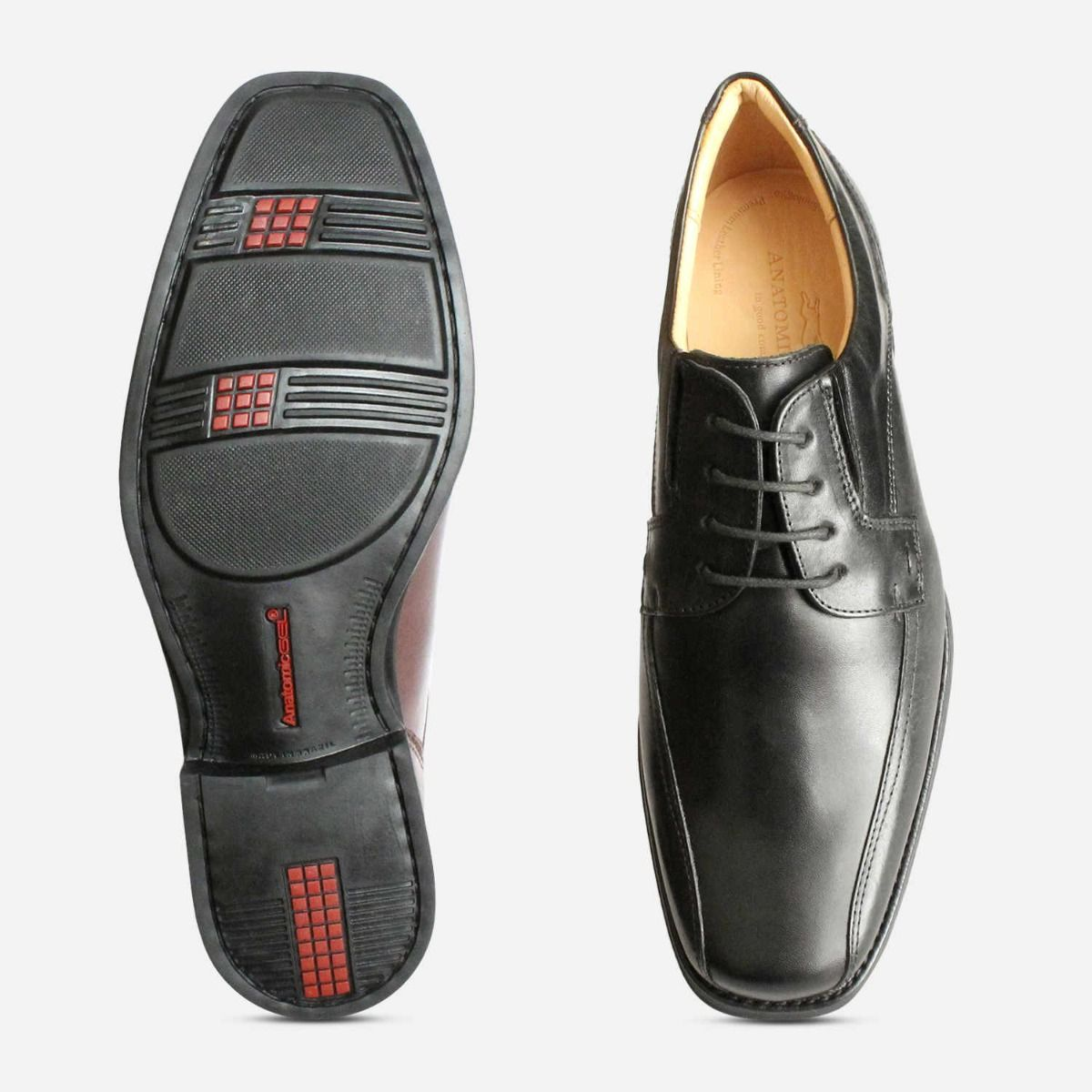 Formal Anatomic Formosa Lace Up Shoes in Black
