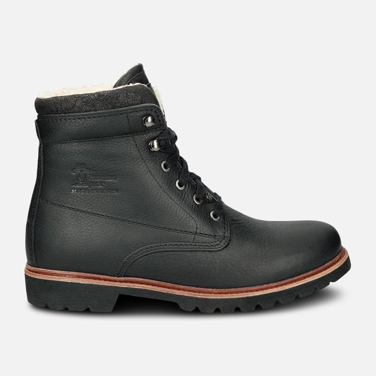 Black Havana Joe General Aviator Cotton Lined Mens Boots