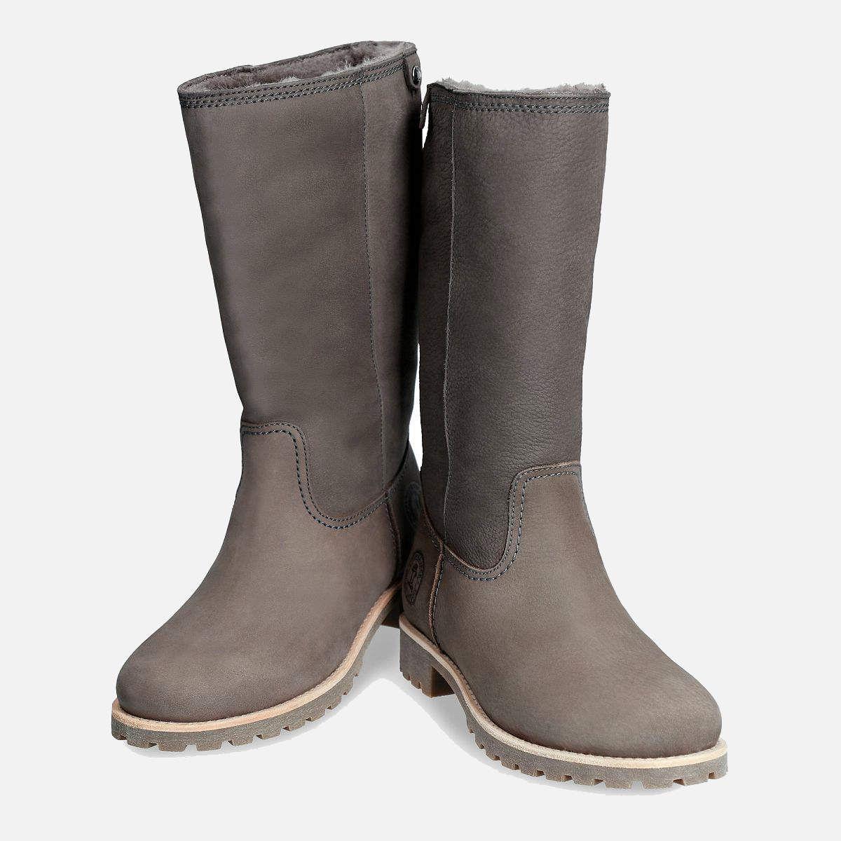 Panama Jack Igloo Ladies Bambina B6 Grey Boots