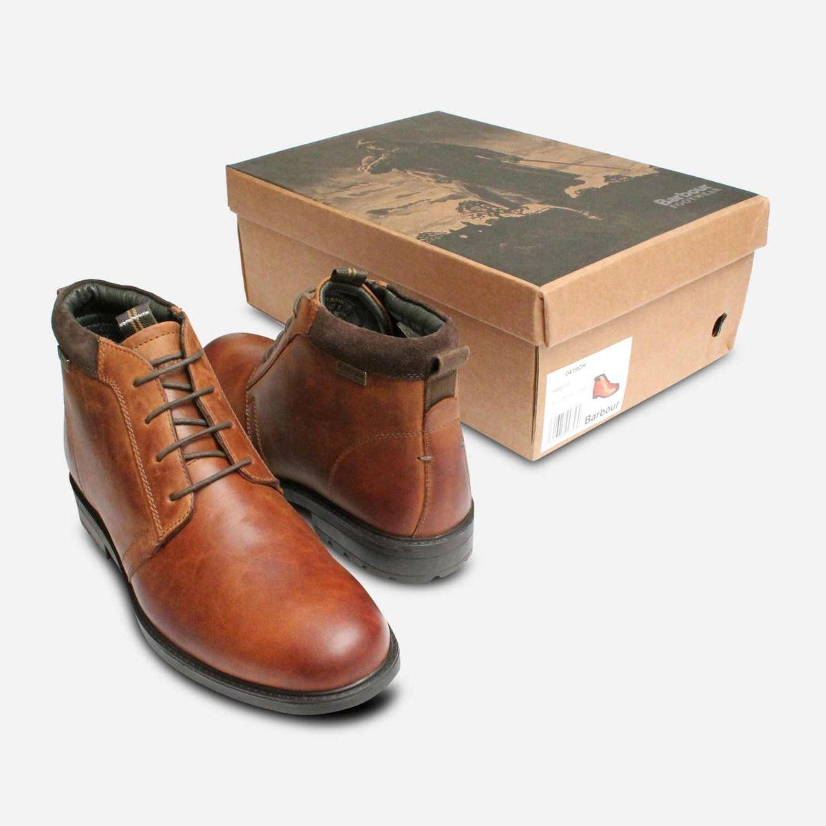 Barbour Kielder Weather Comfort Boots in Waxy Tan