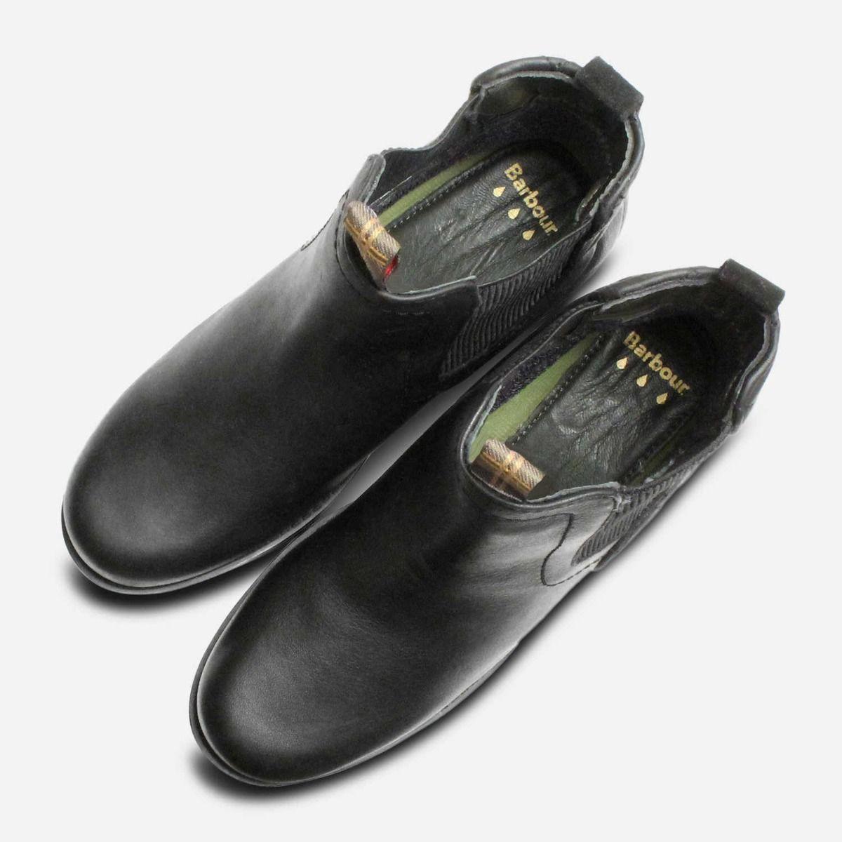 Barbour Weatherproof Black Ladies Rimini Chelsea Boots