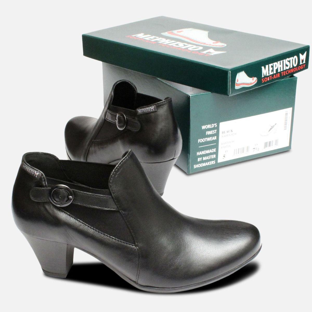 Boot Demi Black Bettie Designer Mephisto I6Hngx1qw