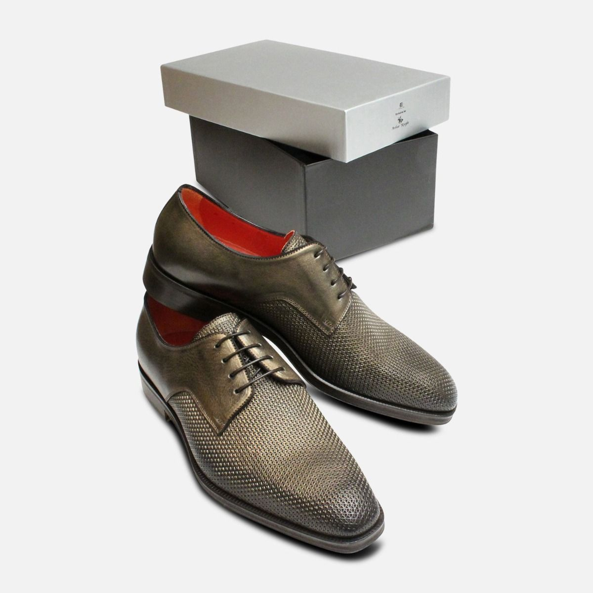 Bronze Chainmail Arthur Knight Italian Designer Shoes