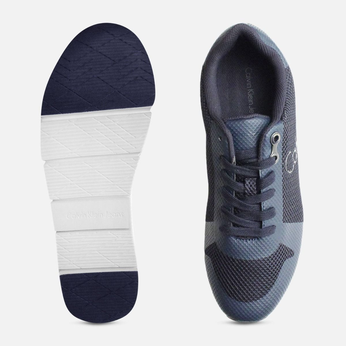 Navy Blue Calvin Klein Jacques Sneakers for Men
