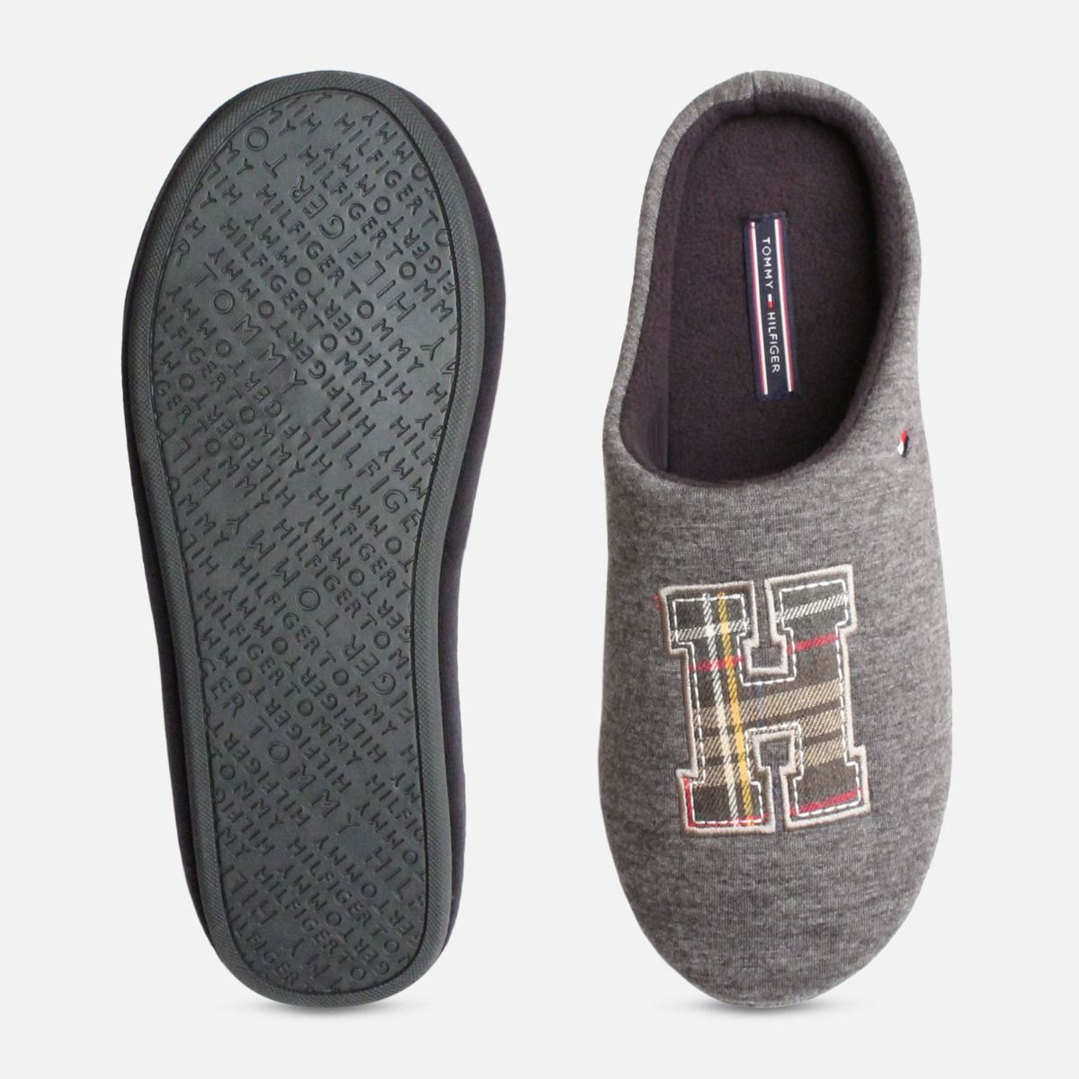 020336b7852d Tommy Hilfiger Cornwall Magnet Grey Luxury Slipper