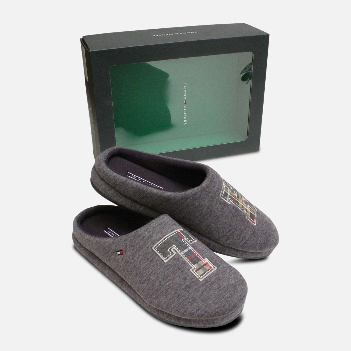 e3febb491 Tommy Hilfiger Cornwall Magnet Grey Luxury Slipper