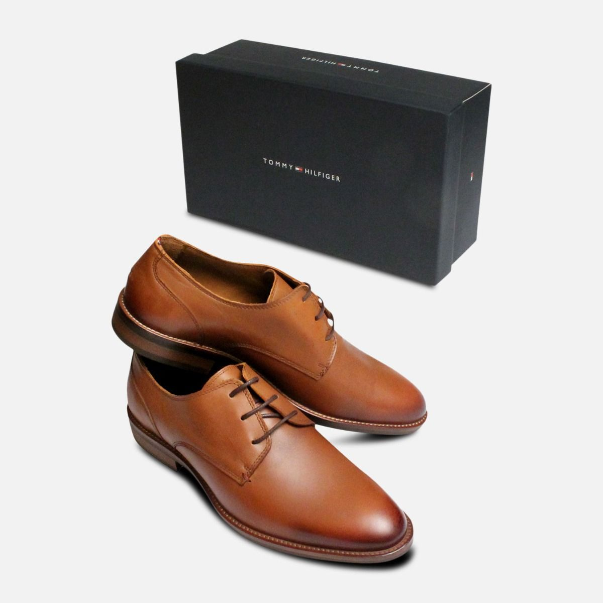 3fe49a0efeb Cognac Brown Tommy Hilfiger Daytona Shoes