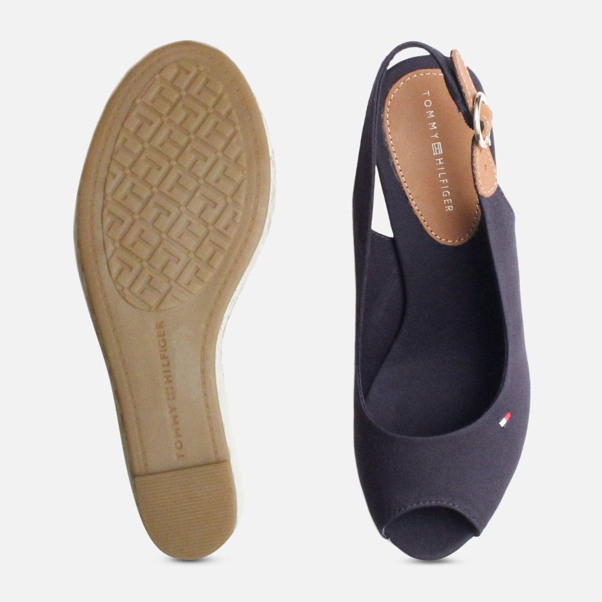 Navy Blue Tommy Hilfiger Elena Platform Sandals