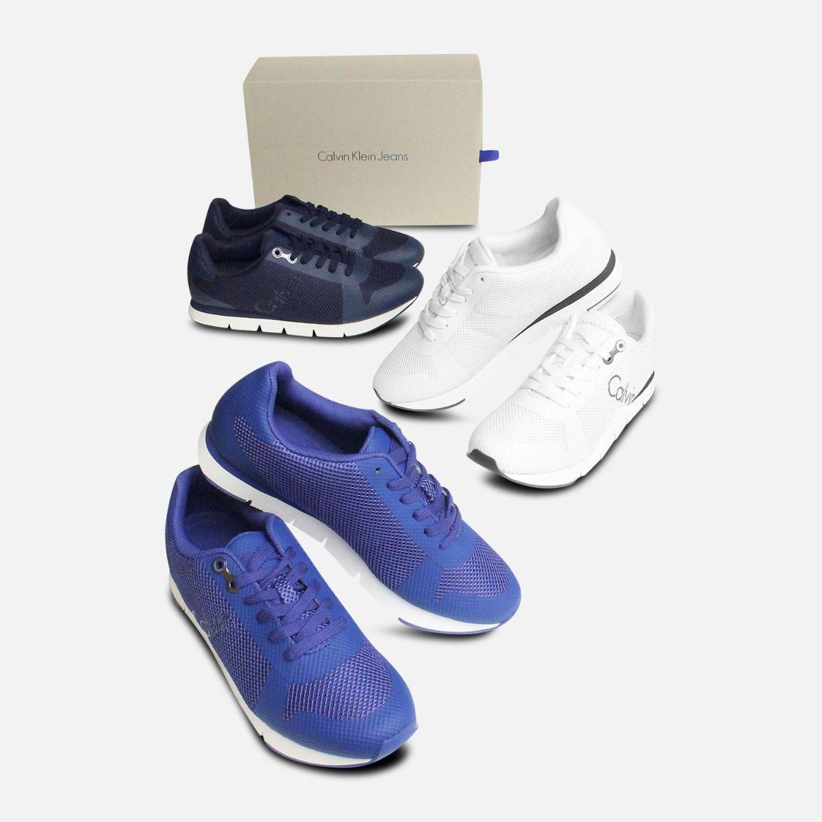 Cobalt Blue Jacques Calvin Klein Trainers for Men
