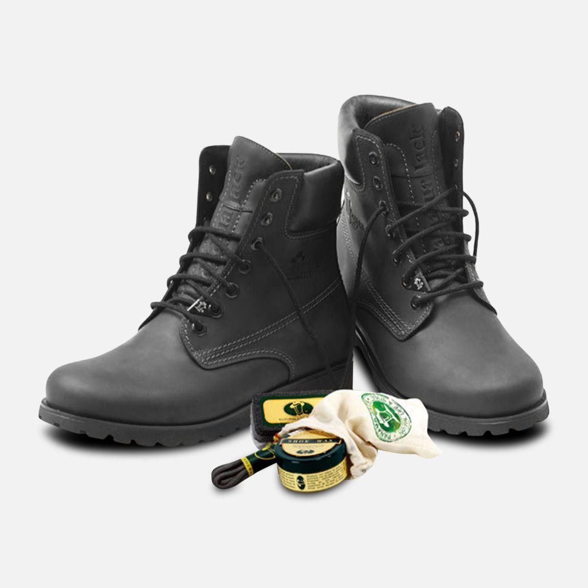 f3e312e609de62 Panama Jack Original Mens Black Napa Boots