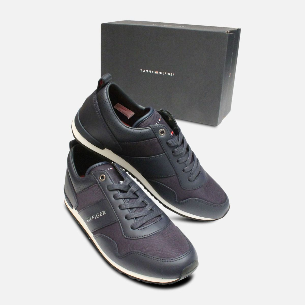 Mens Tommy Hilfiger Maxwell Shoes in Midnight Blue
